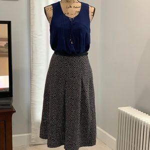 🛍 Pendleton silk polka dot skirt size 4